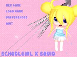 Schoolgirl x Squid