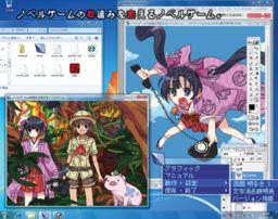 Novel Game no Wakugumi o Kaeru Novel Game.
