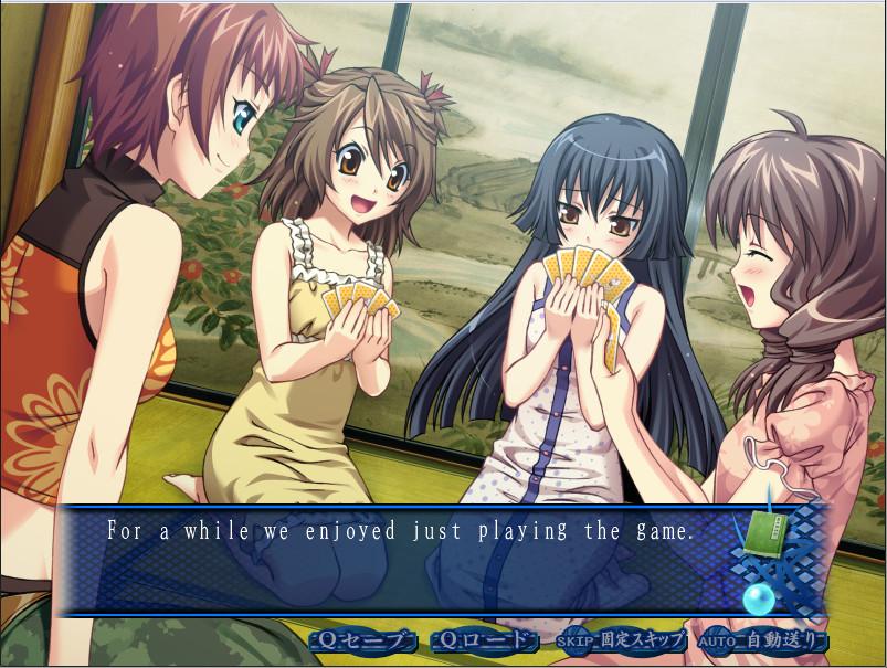 [Lilies Project]Seven Days with the Ghost - Kanojo to Kanojo to Watashi no Nananichi [Yuri doujin eroge] 4219